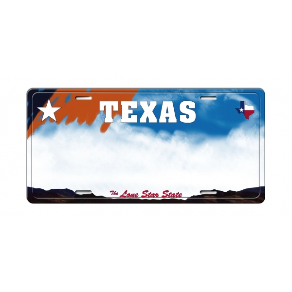 Matricula USA Texas (30 x 14 cm)