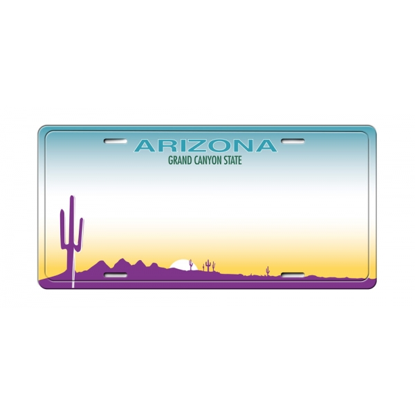 Matricula USA Arizona (30 x 14 cm)
